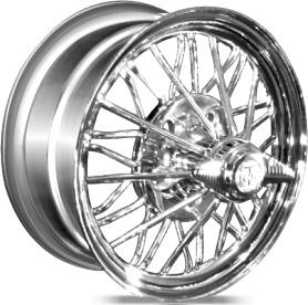 chrome spoke wire wheels